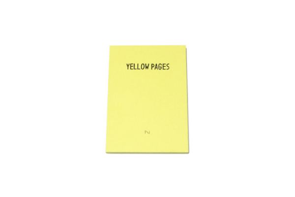 「YELLOW PAGES」