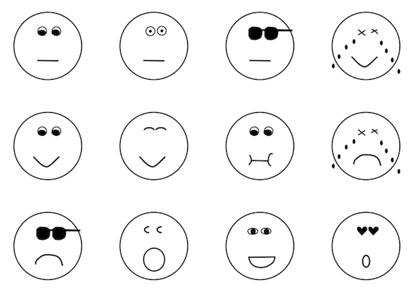 LINEクリエイターズスタンプ「How are you feeling today」()